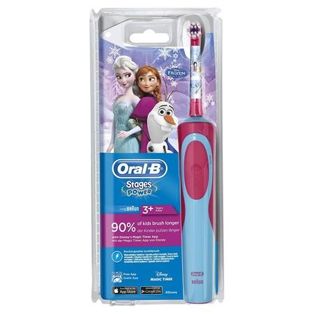 Por 16,99 euros tenemos el cepillo de dientes eléctrico para niños Oral-B Stages Power Kids en Amazon