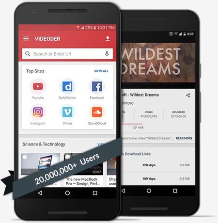 apk para descargar videos en android