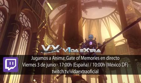 Jugamos a Anima: Gate of Memories a las 17:00h (finalizado)