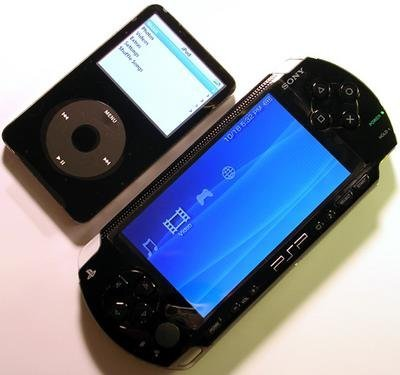 Comparativa PSP vs iPod