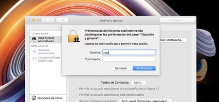 En un gran fallo de Apple, macOS High Sierra permite iniciar sesión como administrador sin necesidad de contraseña [Actualizado]