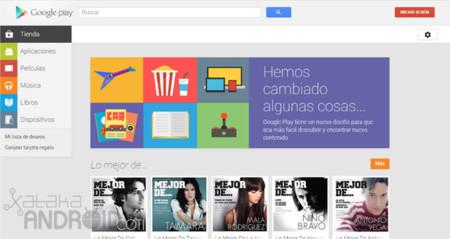 Google Play Store, todas las novedades de su nueva versión web
