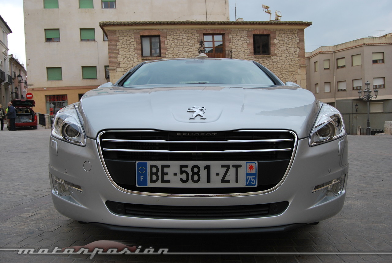 Foto de Peugeot 508 y 508 SW (presentación) (69/118)