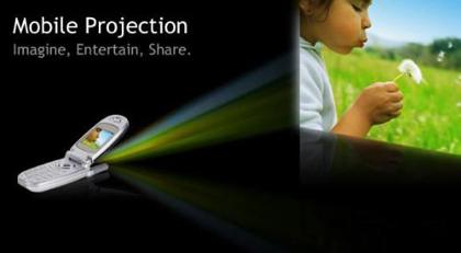 Microvision y Motorola quiere proyectar desde el móvil