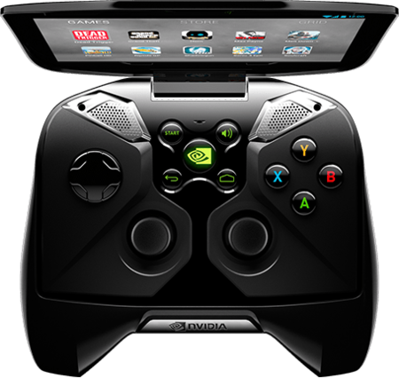 Nvidia Project Shield controles
