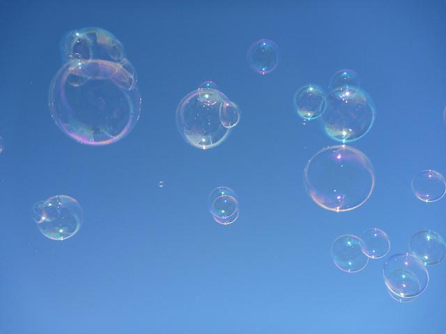 Burbuja en el  I+D+i