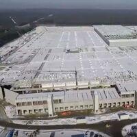 Elon Musk comparte imágenes aéreas del imparable avance de la Gigafactoría de Berlín, hogar del Tesla Model Y