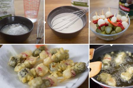Banderillas en tempura - 2