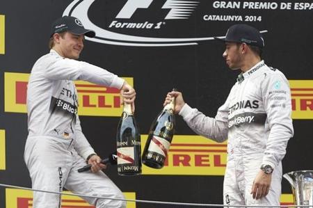 ¿Es el control psicológico lo que marca la diferencia entre Hamilton y Rosberg?