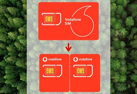 Tarjetas Vodafone