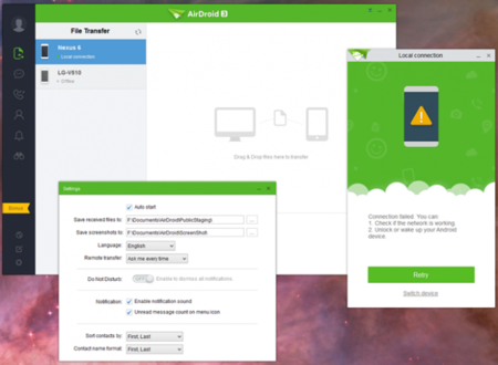AirDroid 3 Beta, renovación de interfaz que afecta a la PC
