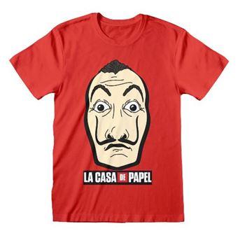 Camiseta la casa papel - Red Mask