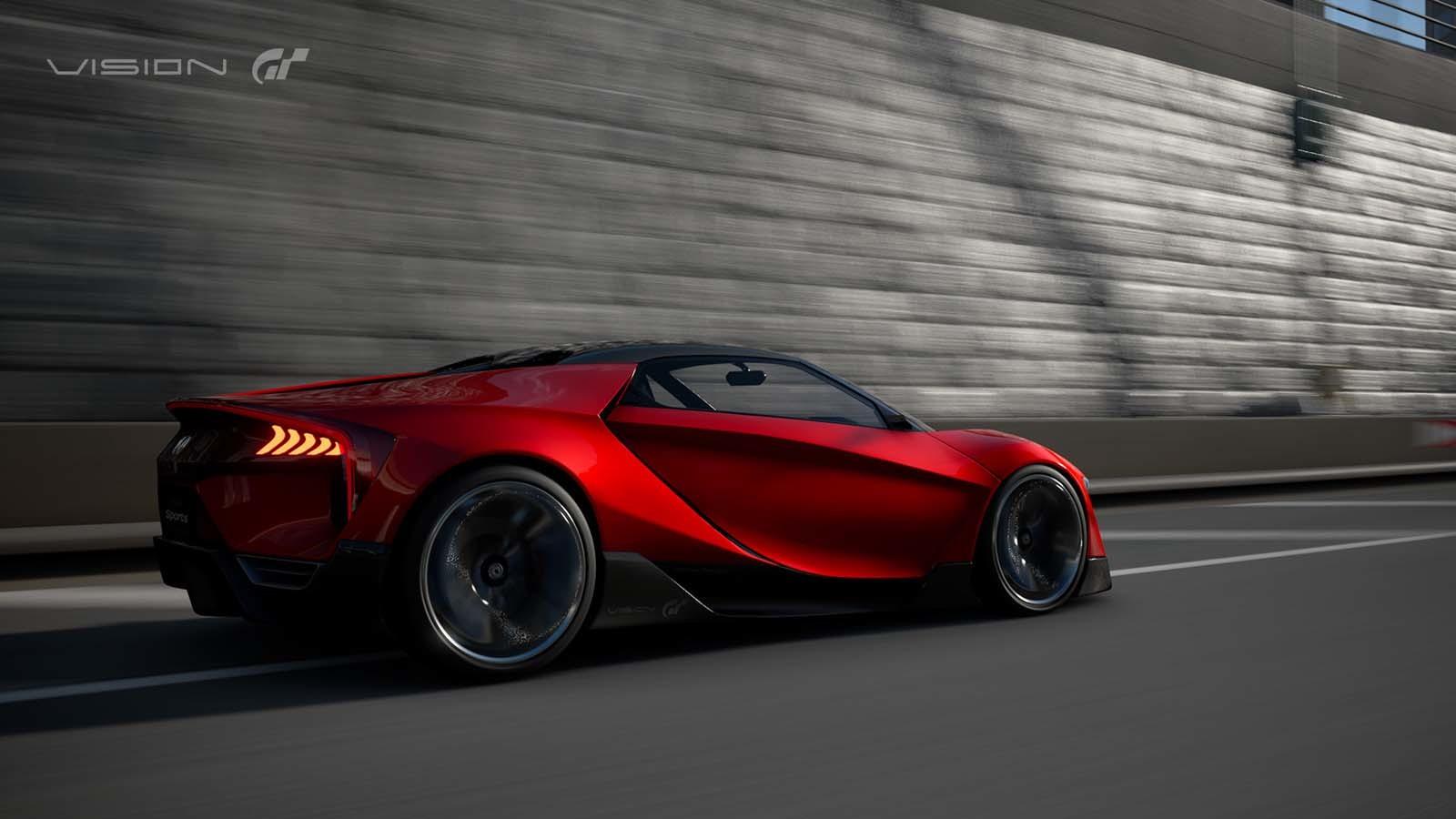 Foto de Honda Vision Gran Turismo Concept (2/12)