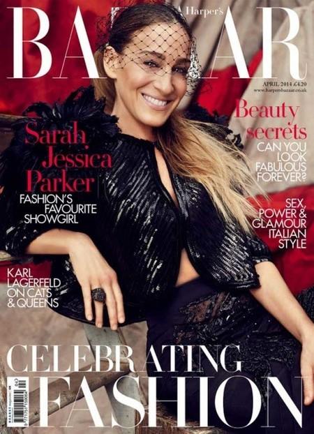 Sarah Jessica Parker se nos pone blandita en Harper's Bazaar: ¡las famosas no se ajuntan!