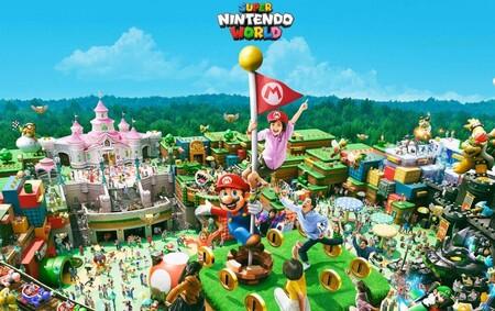 Super Nintendo World establece su nueva fecha de apertura. Dentro de diez días se podrá visitar el parque de atracciones de Nintendo
