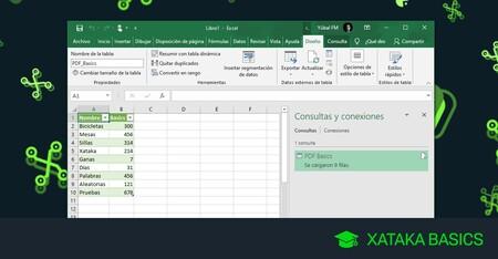PDF a Excel: cómo pasar tablas de un formato a otro sin programas ni webs externas