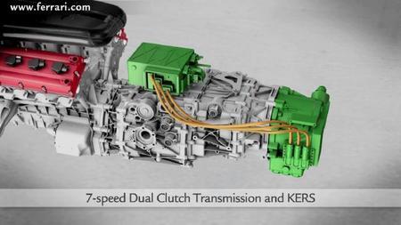Ferrari HY-KERS transmisión de 7 velocidades