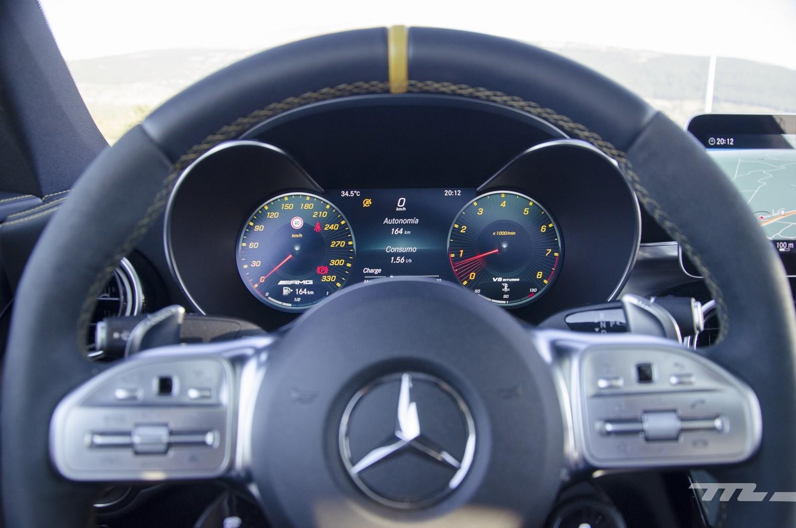 Foto de Mercedes-AMG C 63 S 2019, prueba (48/53)
