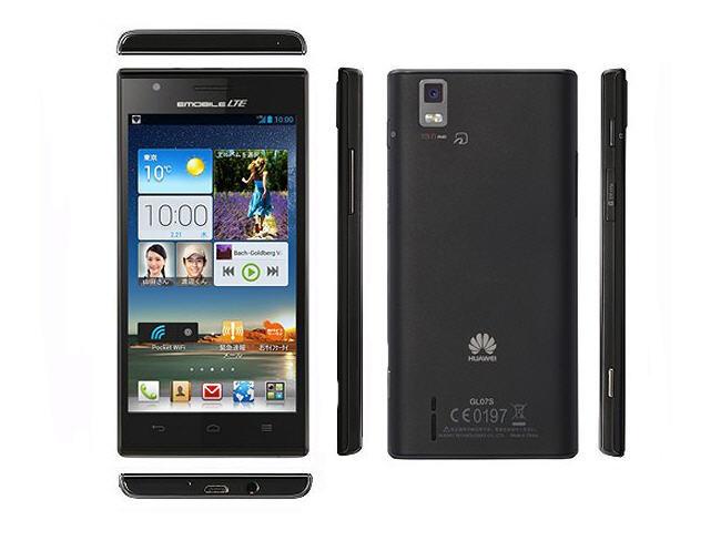 Emobile Huawei GL07S, ¿es este el Ascend P2?