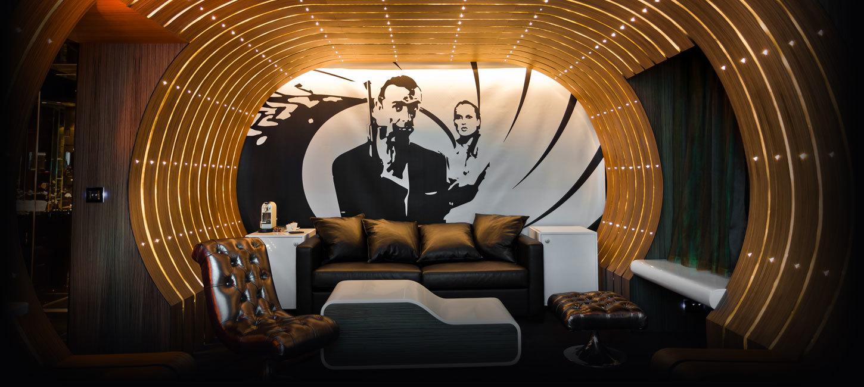 Foto de La suite 007 del hotel Seven en París (1/10)