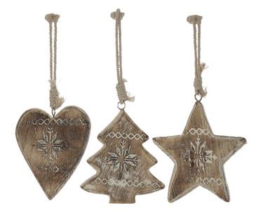 Una Navidad con la madera como protagonista