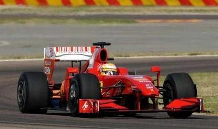 Luca Badoer sí prueba el Ferrari F60