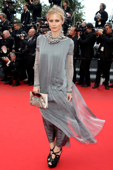 Laura Bailey cannes 2013 look