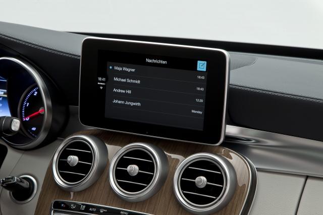 Foto de CarPlay Mercedes Benz Clase C (13/26)