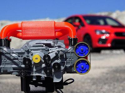 Todo lo que tienes que saber sobre cómo funciona un motor bóxer de Subaru