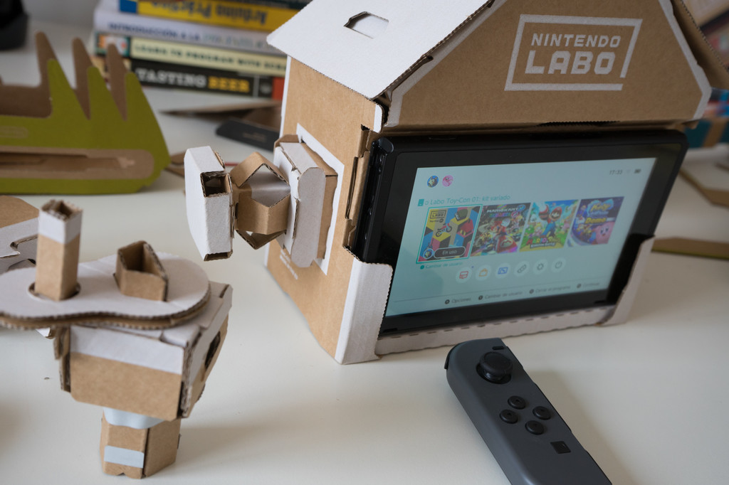 Nintendo Labo Casa Review Xataka 4 De 6