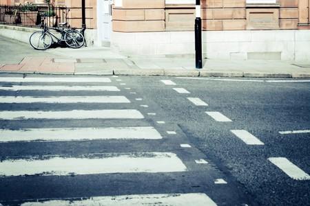 Ed Bicicleta Pasos Peatones