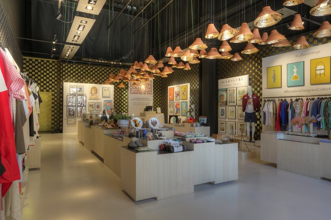 Interior Pop Up Boutique Del Barcelona Designers Collective Foto Agustin Amate 2