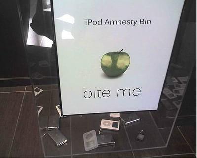 Imagen de la semana: abandona tu iPod