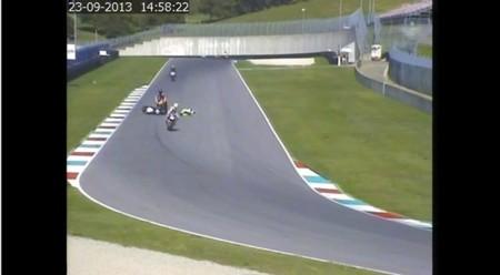 Niccolò Canepa tendrá que pasar por el Juzgado tras tirar a otro piloto en el 2013