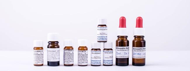 Bottles Homeopathy Medicine 532769