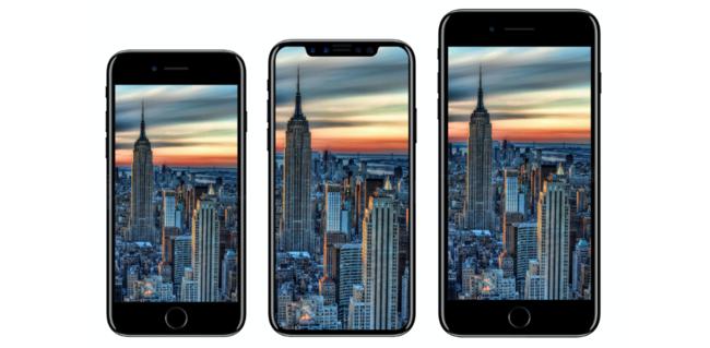 iPhone siete y 8