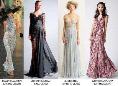 Las chicas de Gossip Girl se visten de largo: adivina qué vestido lleva cada una