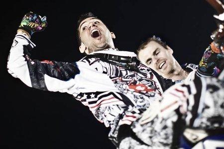 Nate Adams campeón de la Red Bull X-Fighters 2010 con Dany Torres venciendo en la última prueba en Roma