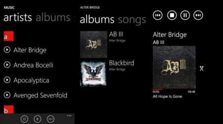 Gooroovster, un cliente de Google Music para Windows Phone