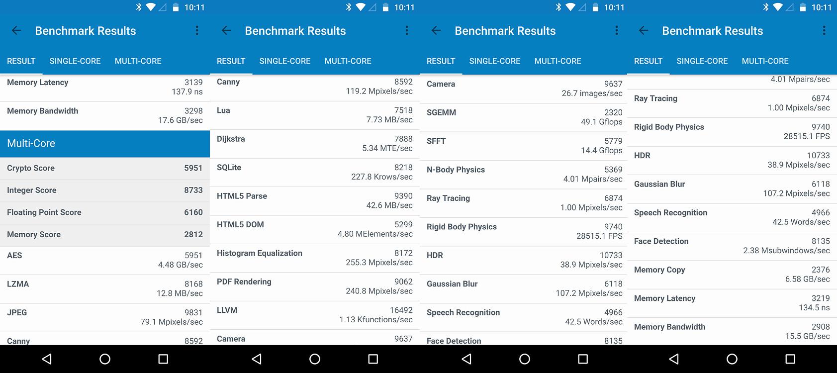 Foto de Moto Z2 Force, benchmarks (3/7)