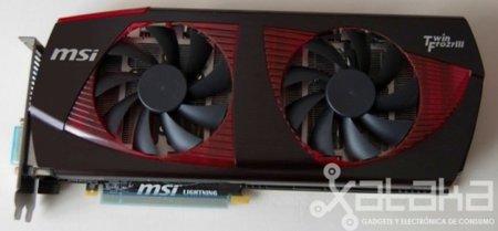 MSI NVidia GTX 480 Lightning