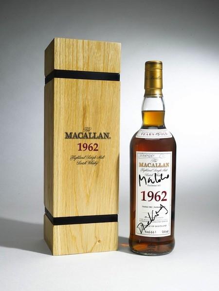Macallan 1962, el whisky firmado por 007