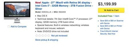 Apple Best Buy Screenshot