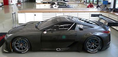 El Lexus LFA GTE que nunca fue