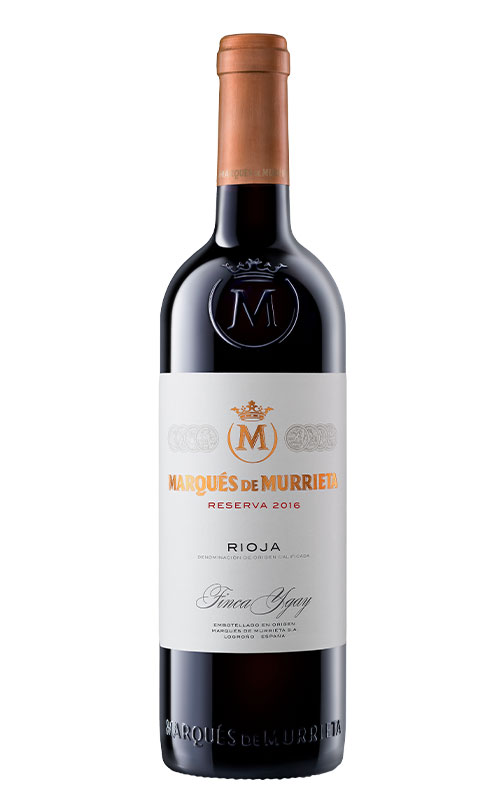 Marqués de Murrieta Reserva 2016. DOCa Rioja