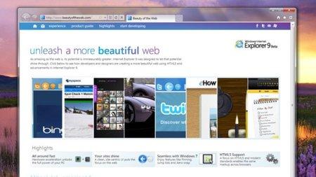 Las novedades de Internet Explorer 9: un nuevo enfoque para navegar en internet