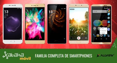 Así queda el catálogo completo de smartphones Allview