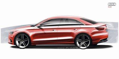 Audi A3 Concept, un sedán para Ginebra