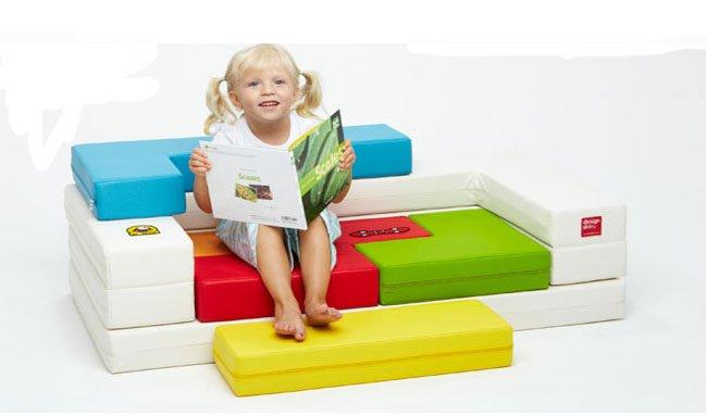Sof puzzle para la habitaci n infantil for Mobiliario infantil montevideo