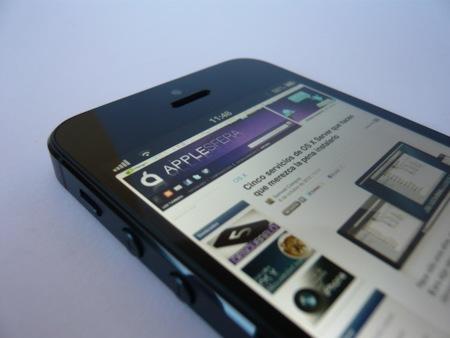 iPhone 5 saturación web